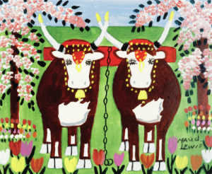 oxen maud lewis